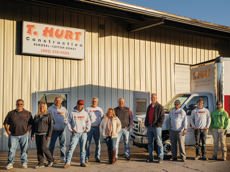 staff of T. Hurt Construction