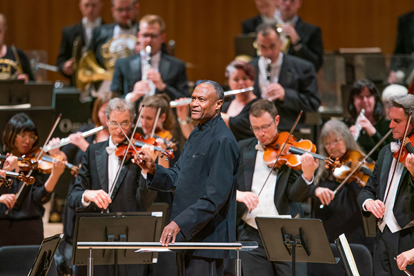 conductor Thomas Wilkins with Omaha Symphony