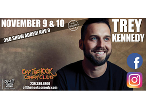 Trey Kennedy Live in Naples, Florida - start: Nov 09, 2020 07:00PM
