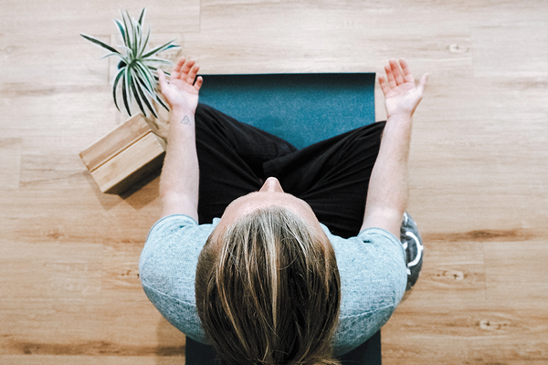 Practicing mindfulness to benefit exercise workouts