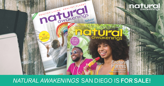 Natural Awakenings magazine franchise for sale in San Diego