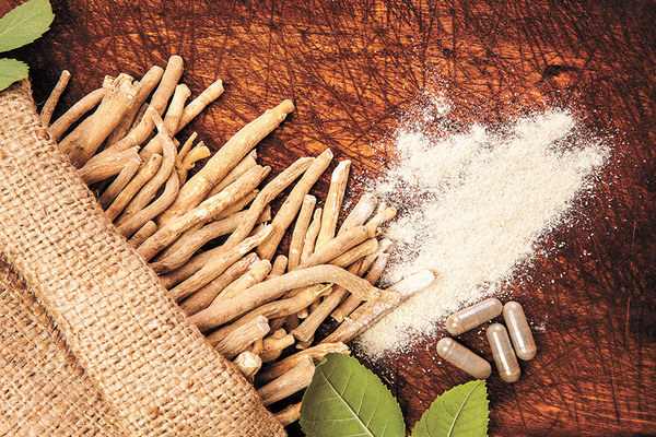 Ashwagandha root extract for treating anxiety