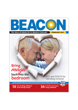 February 2021 BEACON Senior News cover photo