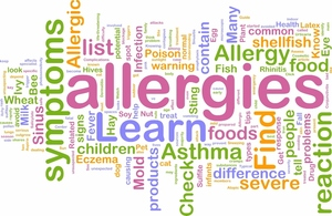 Medium food allergies
