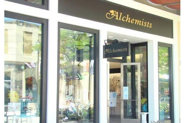 Outside of the Alchemists store front