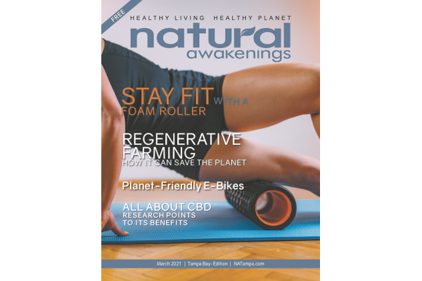March 2021 Natural Awakenings Tampa Bay cover