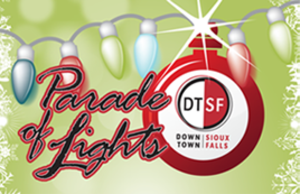 Medium parade of lights logo
