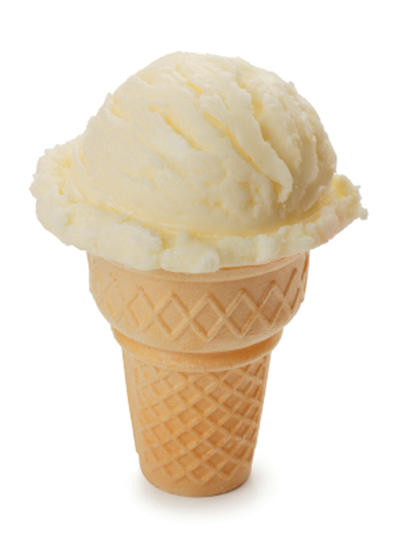 Vanillaicecreamcone