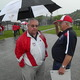 Tewksbury High Athletic Director Brian Hickey is back on his feet and overseeing events again