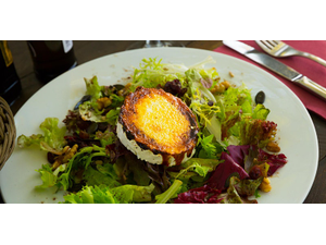 Lunch n Learn Alice Waters Baked Goat Cheese Salad in-person - start Sep 01 2021 1130AM