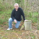 Bob by the graves he discovered in Indiana