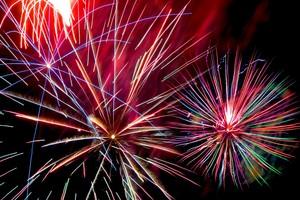 Medium fireworks