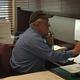 Tewksbury Veterans Agent Jim Williams on the job, helping a veteran in need.