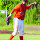 Zack Gakeler plays for Bordentown Post 26 in a game against Ewing in June 2014. (Photo by Kyle Kondor).