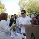 Guests enjoy Virage Napa Vineyards wines during the VIP tasting.