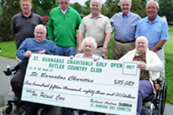 St. Barnabas Golf Tournament Raises $115,083