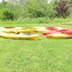 Kayaks at the ready.