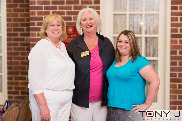 Lynne Evans, Nancy Almgren, and Mandy Rounds