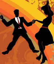 Medium swing dance