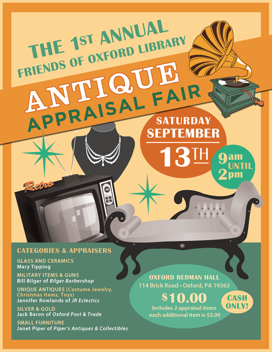 - Antique Appraisal Fair
