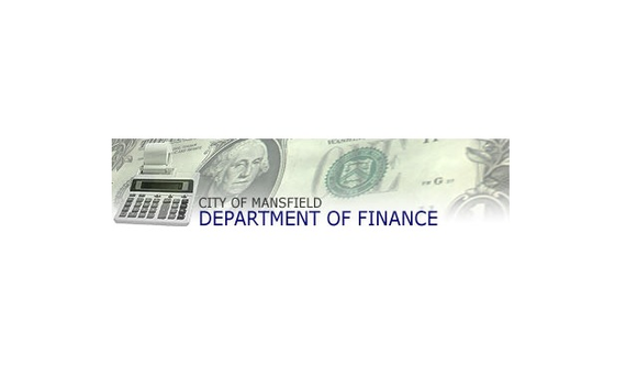 City of mansfield department of finance