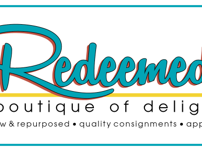 Redeemed store sign