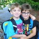 Brothers Anthony and Joey Pellegrino have each other's back on the first day of school. Anthony is starting second grade, while Joey is starting Kindergarten.