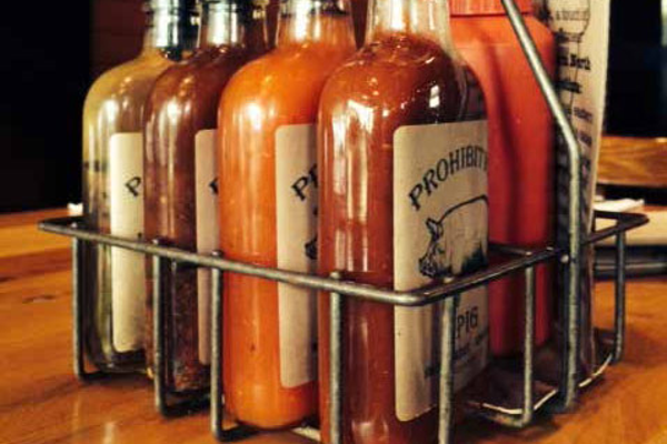Almost everything, including many condiments, is made in house