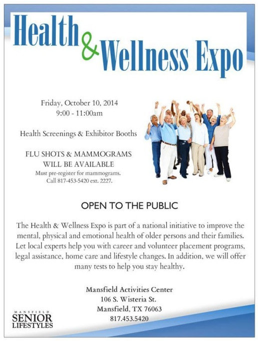 Health  wellness expo