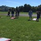 The Cornhole Tournament was intense at the Fall Harvest Fair in Tewksbury.